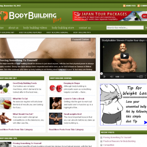 Body Building Blog   Free Fitness Tips   Body Building…