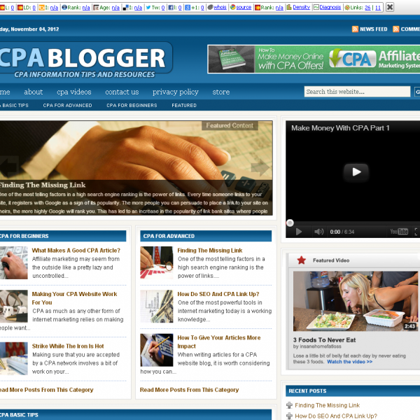 CPA Blog  Free Information Tips and Resources.