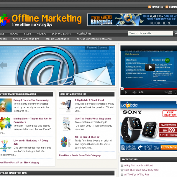 Offline Marketing Tips and Information – Free Article Resources